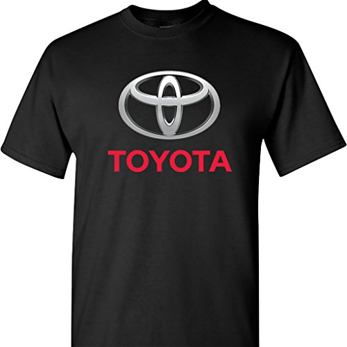 toyota-chrome-logo-on-a-black-t-shirt