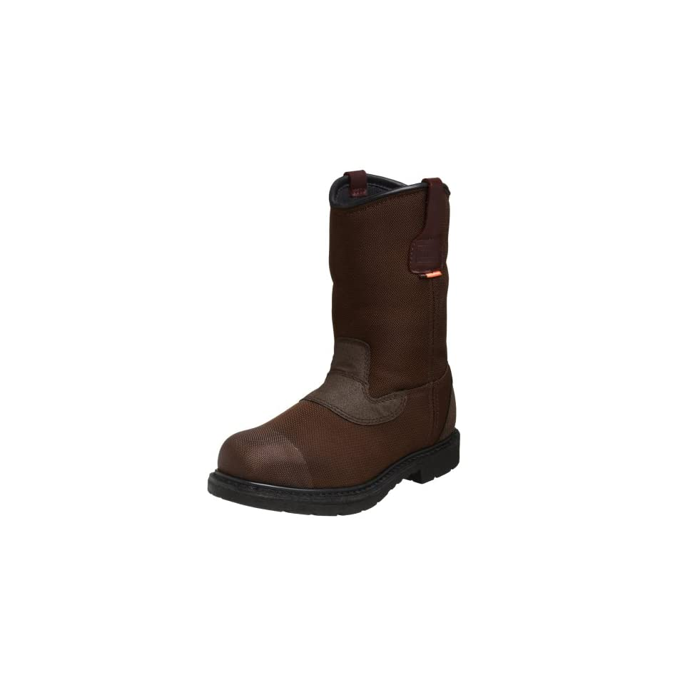 03f005c78a0c2 WORX by Red Wing Shoes Mens 6500 10 Cordura Pull on Steel Toe ...