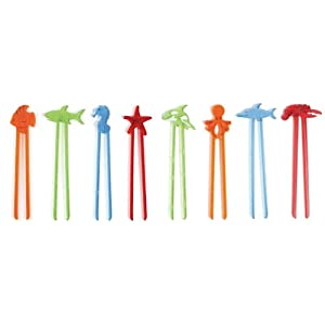 Hog Wild Fish Sticks One Piece Chopstick Tongs - Set of 12