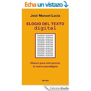Elogio Del Texto Digital
