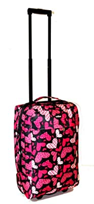 Small 21 Inch Carry-On Wheeled Hand Luggage Case Flight Bag 54x33x20cm from Greensitts