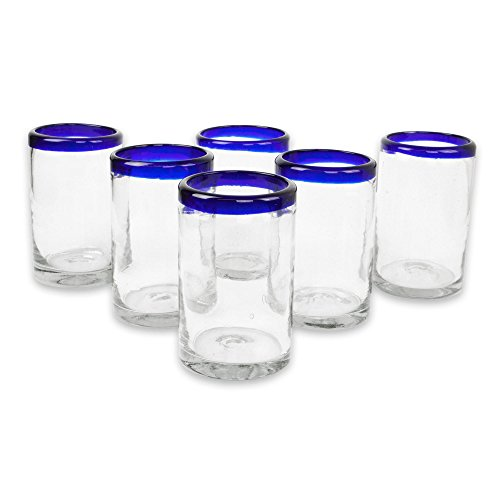 Mexican Blown Drinking Glasses