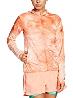 adidas Chaqueta Kanoi Run Packable Dye (Naranja)