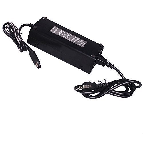 Hezong AC Power Adapter Charger for XBOX 360 E Game Console-US Plug-Black (Xbox 360 Console Adapter compare prices)