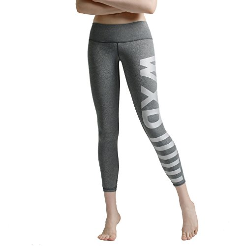 WXD Donna Leggings Sport Fitness Under Base Layer Gear Armour Wear Yoga Running pantaloni lunghi