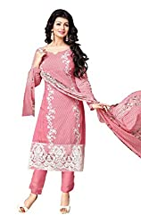 Mahaveer Fashion Women's Dress Material (8959_25_72005_Pink_Free Size)