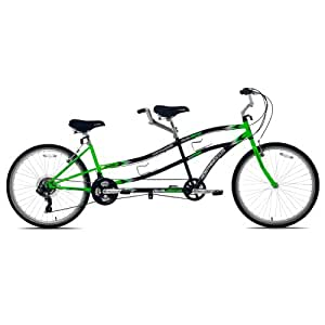 Kent Northwoods Dual Drive Tandem Bicycle, 18-Inch/One
