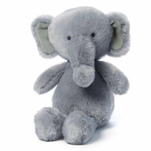 Gund Gradie Elephant Baby Rattle Stuffed Animal (Discontinued by Manufacturer)