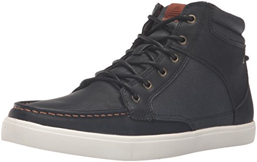 Aldo Men's Fashion Sneaker (Black Leather)