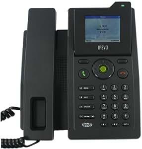 IPEVO S0-10 Skype Desktop Phone-Black handset