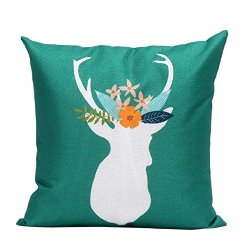 4545cm VIASA Home Decor Christmas Pillow Case Cushion Covers (Z) (32 X 24 Pillow Insert compare prices)