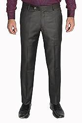Legato Men's Formal Pant(LEG1002-XL_Brown_36)