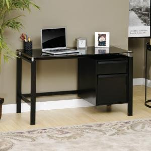 Buy Low Price Comfortable Sauder Studio Edge Lake Point Computer Desk (B004XKZ2TW)