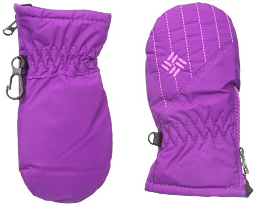 Columbia Baby-Girls Infant Chippawa Mitten, Bright Plum, 6-12 Months