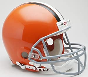 Cleveland Browns Full Size Authentic Riddell Helmet by Victory Collectibles