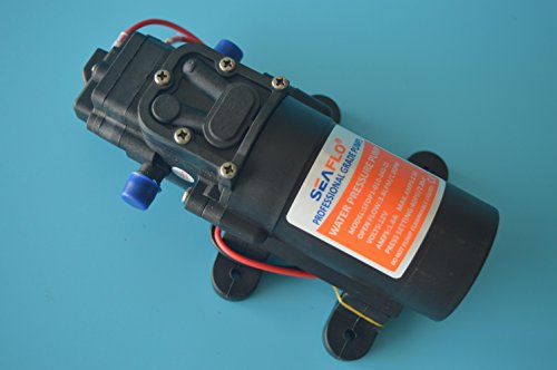 Seaflo 12v Water Pressure Diaphragm Pump 3.8 LPM 1.0 GPM 40 PSI - Caravan/rv/boat/marine