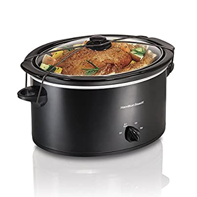 Hamilton Beach 33256 5 qt. Portable Oval Slow Cooker by Power Sales and Advertising Inc