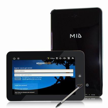 MID 7 inches Android Tablet PC