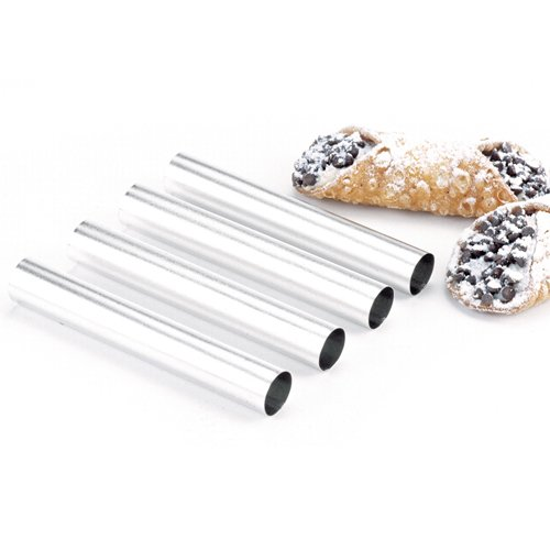 Norpro 3660 Stainless Steel Cannoli Forms, Set Of 4