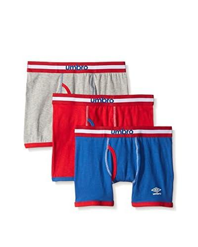 Umbro Men's 3-Pack Boxer Brief (America Pack)