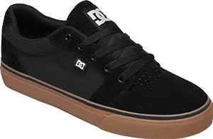 DC Men's Anvil Action Sports Shoe,Black/Gum,6 M US