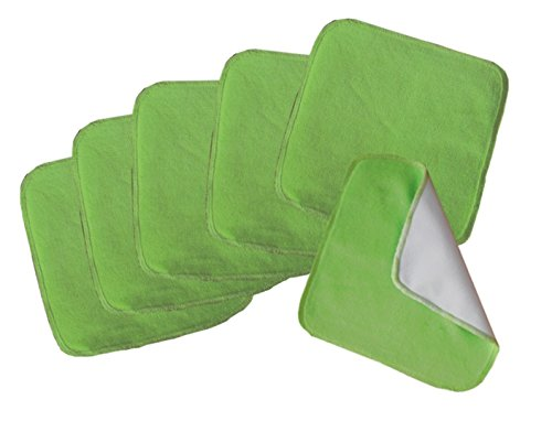 Buttons Velour Baby Wipes - 6 Pack