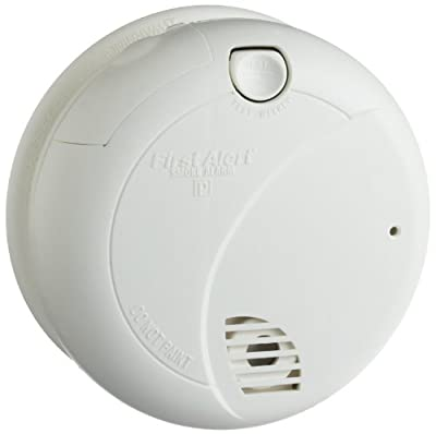 NEW RELEASE!!! First Alert Smoke Detector Camera/DVR with NightVision and 6 Month Battery Power