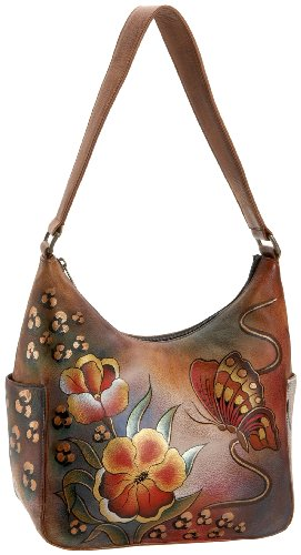 anuschka-damen-hobo-bag-premium-floral-safari-unica