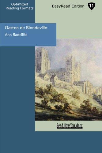 Gaston de Blondeville (EasyRead Edition)