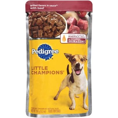 Pedigree Dog Food Complete Nutrition Grilled Cut 24 Case 5.3 Ounce