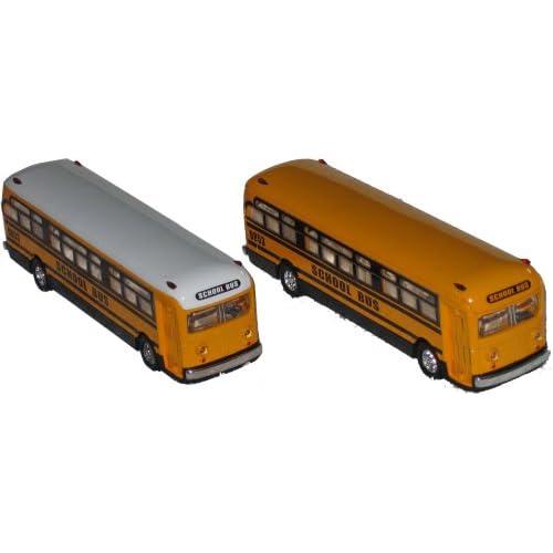 Amazon.com: Large Die-cast Flat Nose School Bus Toy School Bus