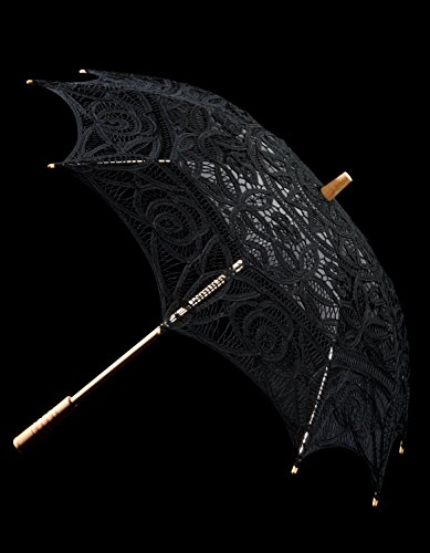 The 1 for Vintage Batternburg Lace Parasol 8 Colors 3