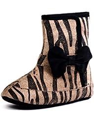 Beanz Agnes Black Dot Print Leather Pram Shoes For Girls Size 18 EU