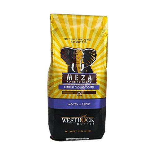Westrock Coffee Company Meza Morning Blend Medium Roast Best Gourmet Ground Coffee Blend, 12 oz. bag (Counting Sheep Coffee Keurig compare prices)