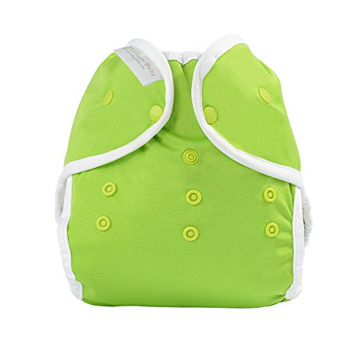 Sunflowerbaby Yellow Diaper Cover Fit Babies 8-35Lbs, Green