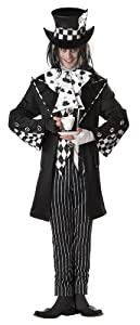 California Costumes Men's Dark Mad Hatter Costume,Multi,Medium