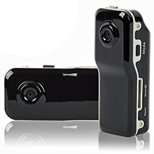 LUPO MD80 sport Mini DVR Video macchina fotografica, registratore di voce & fotocamera digitale - nero