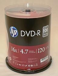 Hewlett Packard 16X 100/pack 4.7GB DVD-R