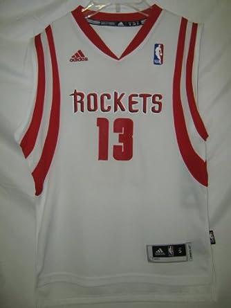 James Edward Harden Houston Rockets White NBA Youth Swingman Revolution 30 Jersey by adidas