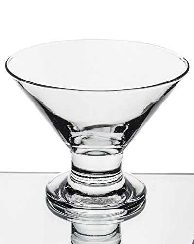 Red Co Serverware 6-Piece Mini Martini Footed Dessert Glass Set, 5.5 Ounce (Mini Martini compare prices)