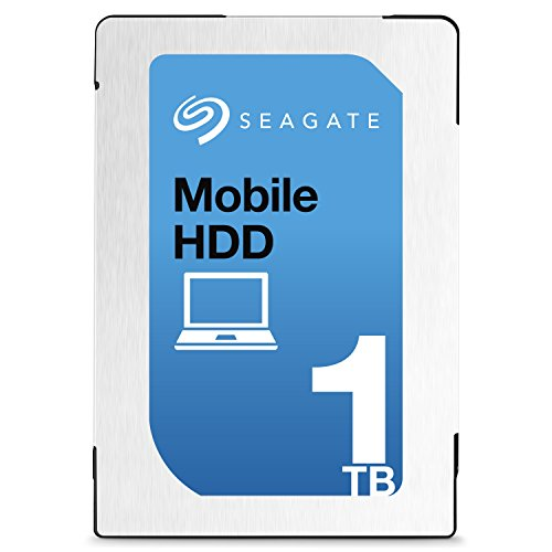 Seagate シーゲイト 内蔵ハードディスク Mobile HDD 1TB ( 2.5 インチ / SATA 6Gb/s / 5400rpm / 128MB / 2年保証 ) 正規輸入品 ST1000LM035