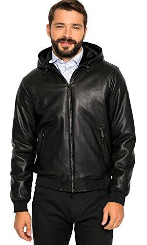 Giubbotto Uomo Armani Jeans 6X6B65 6EMCZ Nero Autunno/Inverno Nero 52