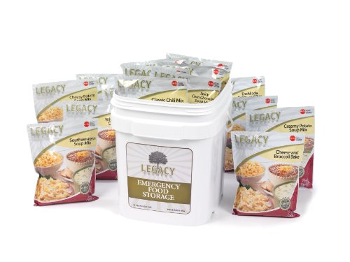 Long Term Gluten Free Food Storage: 60 Large Servings - 15 lbs Emergency Survival Meals - Disaster Insurance Supplies with 25 Year Shelf Life - Prepper (Food Long Term Storage compare prices)