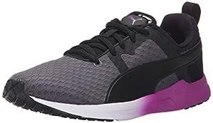 PUMA Women's Pulse XT Core Running Sneaker, Periscope/Black/White, 8 B US