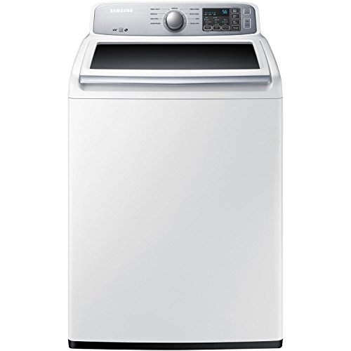 Samsung WA45H7000AW Energy Star 4.5 Cu. Ft. Top-Load Washer with SelfClean, White