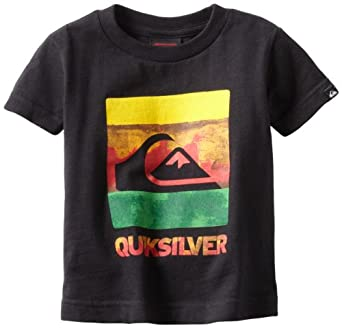 Quiksilver Baby-Boys Infant Chaos, Black, 6-9 Months