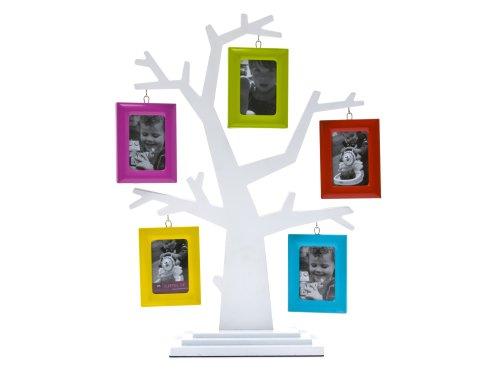 cadres pt hm0265 cadre photo arbre g n alogique blanc. Black Bedroom Furniture Sets. Home Design Ideas