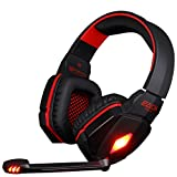 EACH G4000 Professional 3.5mm PC Gaming Stereo Noise Canelling Headset Headphone Earphones with Volume Control Microphone HiFi Driver For Laptop Computer