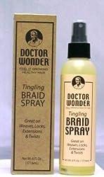 Doctor Wonder Tingling Braid Spray 6 FL OZ
