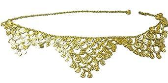 J23655 Belly Dancer Gold Coin Belt